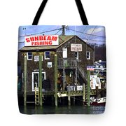 Fishing For Business Tote Bag