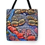 Fishing Gear Tote Bag by Heidi Smith