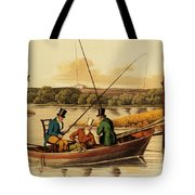 Fishing In A Punt Tote Bag