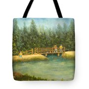 Fishing In New England Tote Bag