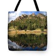 Fishing In Solitude Tote Bag