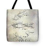 Fishing Lure Patent 1959 Tote Bag