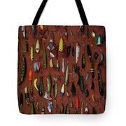 Fishing Lures 01 Tote Bag