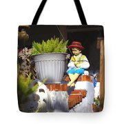 Fishing Off The Front Porch Tote Bag