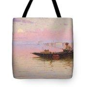 Fishing On The Lagoon, Venice, C.1890 Tote Bag
