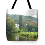 Fishing On The River Thames Tote Bag by Gill Billington