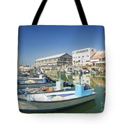 Fishing Port In Jaffa Tel Aviv Israel Tote Bag