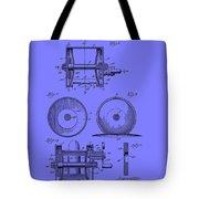Fishing Reel Patent 1930 Tote Bag
