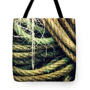 Fishing Rope Textures Tote Bag