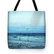 Fishing Tote Bag by Sandy Keeton