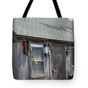 Fishing Shack In Rockport Ma Tote Bag
