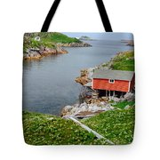 Fishing Stage Little Fogo Island Newfoundland Tote Bag