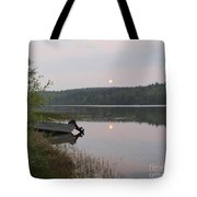 Fishing Tranquility Tote Bag