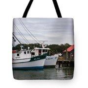 Fishing Trawlers Tote Bag
