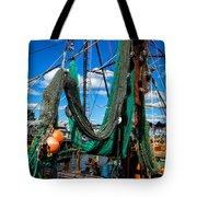 Fishing Vessel Tote Bag