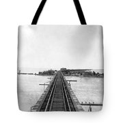 Fishing Village In Key West Tote Bag