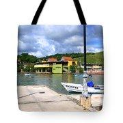 Fishing Village Puerto Rico Tote Bag