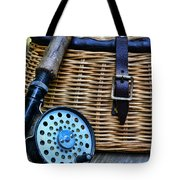 Fishing - Vintage Fly Fishing Tote Bag