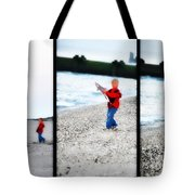 Fishing With Dad - Catch And Release Tote Bag