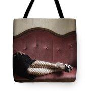 Fishnet Tights Tote Bag