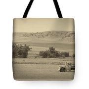 Fishtail Montana Tote Bag
