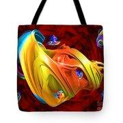 Fishy Fractelus  Tote Bag