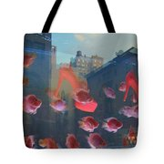 Fishy Shoes Tote Bag