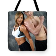 Fitness Couple 43 Tote Bag