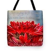 Fitting In By Diana Sainz Tote Bag