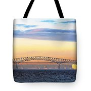 Fitting The Key - Pano Tote Bag