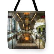 Fiumicino Airport Escalator Tote Bag