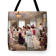 Five Hours At Paquin Tote Bag