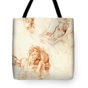 Five Studies For The Figure Of Haman Tote Bag