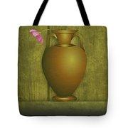 Five Vases One Flower  Tote Bag