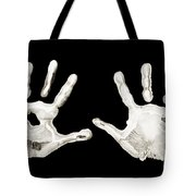 Five Years Old - Creative - Hands - First Painting Tote Bag