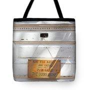 Fix It Shop Tote Bag