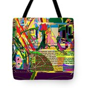 Fixing Space 6f Tote Bag by David Baruch Wolk