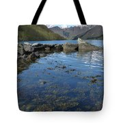 Fjord To The Sky Tote Bag