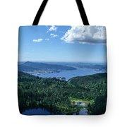 Fjord View Tote Bag