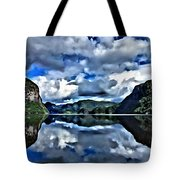 Fjords Of Norway Tote Bag