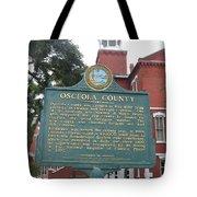 Fl-f304 Osceola County Tote Bag