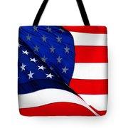 Flag Mirror Tote Bag