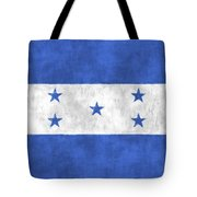 Flag Of Honduras Tote Bag