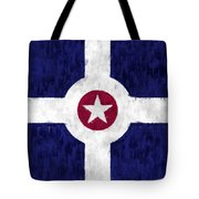 Flag Of Indianapolis Tote Bag