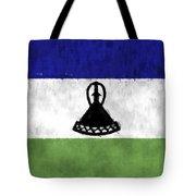Flag Of Lesotho Tote Bag