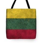 Flag Of Lithuania Tote Bag