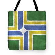 Flag Of Portland Tote Bag
