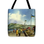 As I Walk Along The Promenade With An Independant Air  ....... Tote Bag