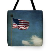 Flag - Still Standing Proud - Luther Fine Art Tote Bag