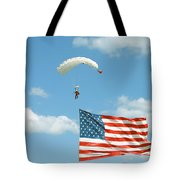 Flagdiver Tote Bag